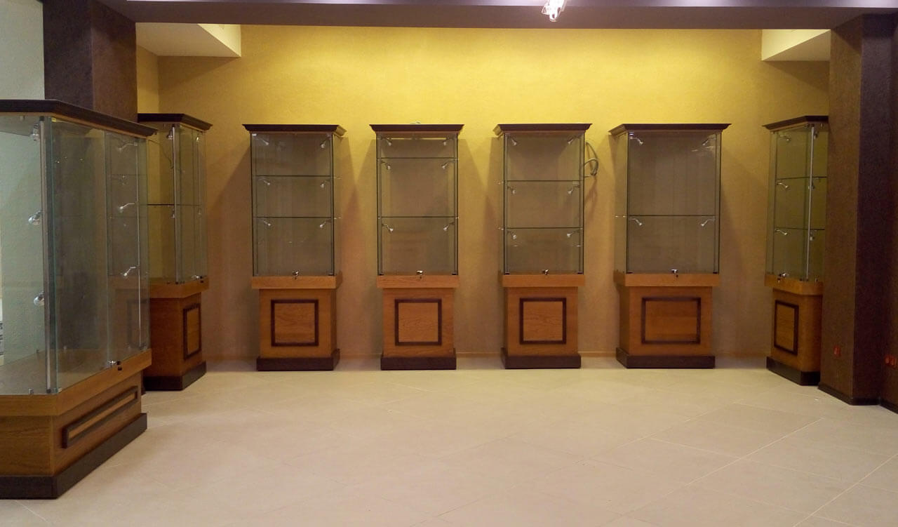 Музейная витрина на заказ