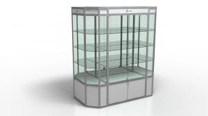 Островная витрина прямоугольная