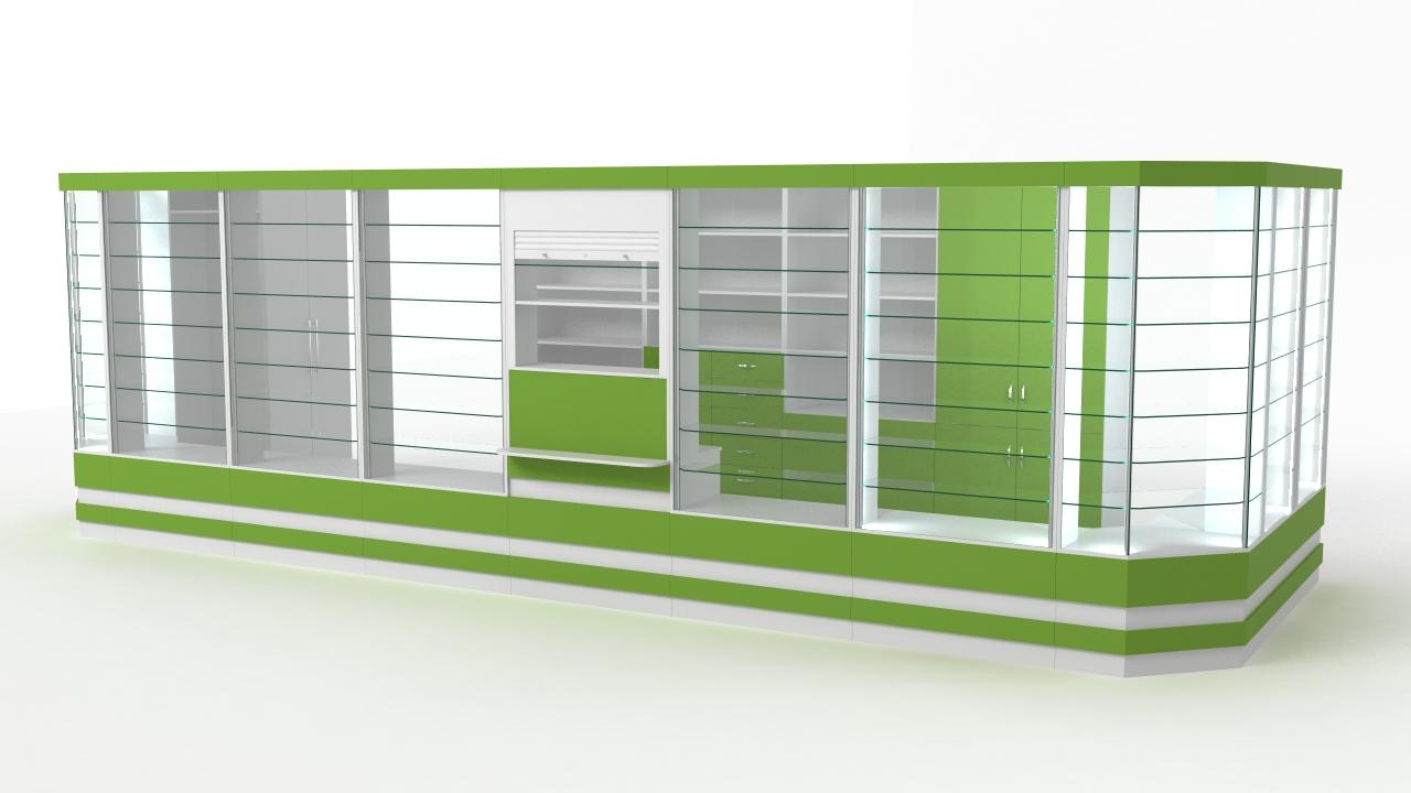 Павильон аптечный 16 кв.м.