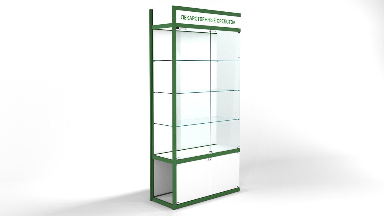 Доп. секция витрины пристежной с накопителем